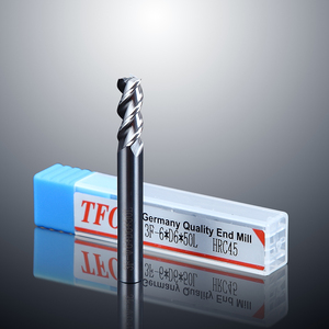 HRC45 Carbide Aluminum End Mills